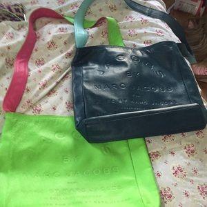Leather Marc Jacob bags reversible crossbody